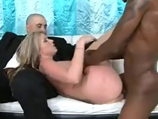 Blonde wife offered to a BBC