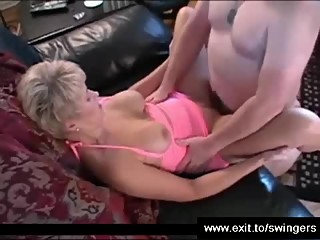 Mature Swinger Party ends with Cum Fun